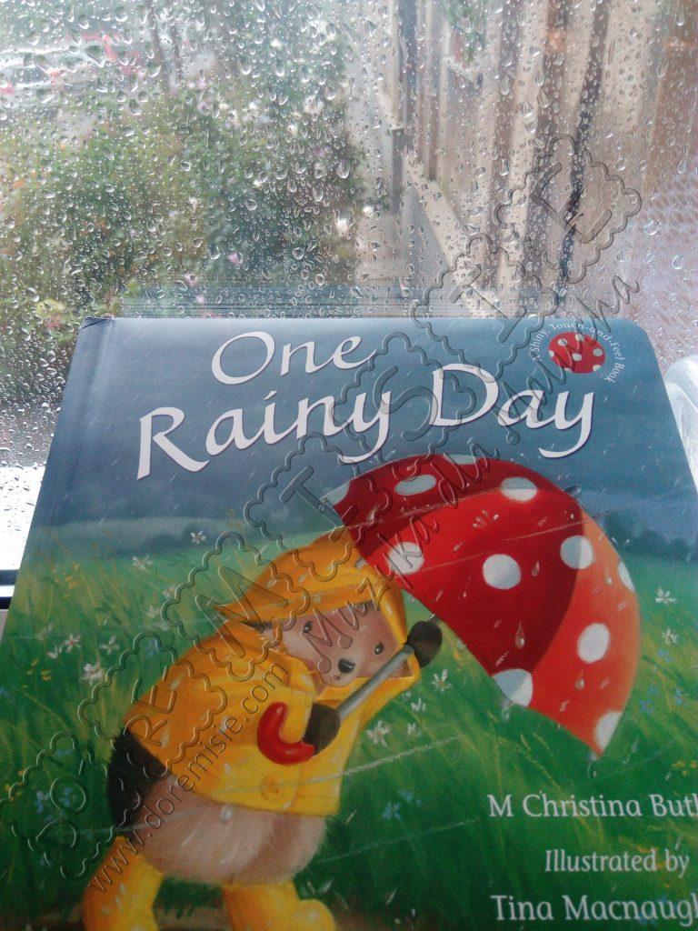 doremisie zajęcia język angielski dla dzieci książka one rainy day deszcz